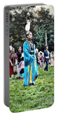 Cherokee Warrior Portable Battery Charger
