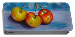 Cherries Trio Portable Battery Charger