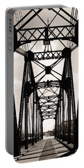 Cherry Avenue Bridge Portable Battery Charger by Kyle Hanson