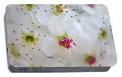 Portable Battery Charger featuring the photograph Cherry Blooms by Darren White