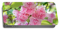 Cherry Blossom Cluster Portable Battery Charger