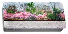 Cherry Blossom Day Portable Battery Charger