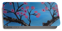 Cherry Blossoms II Portable Battery Charger