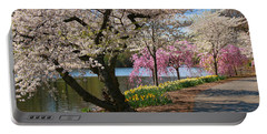 Cherry Blossom Trees Of Branch Brook Park 17 Portable Battery Charger
