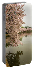 Cherry Blossoms Along The Tidal Basin 8x10 Portable Battery Charger