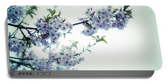 Cherry Blossoms Portable Battery Charger by Rachel Mirror