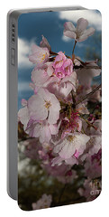 Cherry Blossoms Vertical Portable Battery Charger