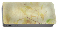 Cherry Branch On Rice Paper Portable Battery Charger
