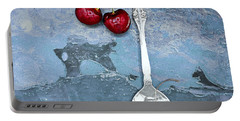 Cherry Family Summer Portable Battery Charger