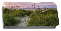 Cherry Grove Beach Scene Portable Battery Charger