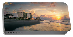 Cherry Grove Panoramic Sunrise Portable Battery Charger