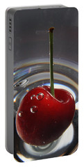 Cherry Martini Portable Battery Charger