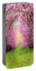 Cherry Orchard Portable Battery Charger