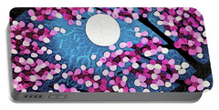 Cherry Ripple Sky Portable Battery Charger