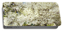 Cherry Trees In Blossom Portable Battery Charger