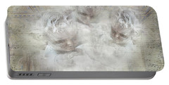 Cherubs In Bethesda Portable Battery Charger by Evie Carrier