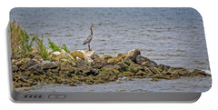 Chesapeake Bay Great Blue Heron Portable Battery Charger
