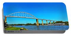 Chesapeake City Bridge  Portable Battery Charger