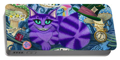Cheshire Cat - Alice In Wonderland Portable Battery Charger