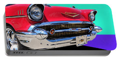 Chevrolet Bel Air Color Pop Portable Battery Charger