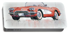 Chevrolet Corvette C1 1960  Portable Battery Charger