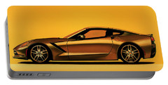 Chevrolet Corvette Stingray 2013 Painting Portable Battery Charger