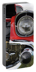 Portable Battery Charger featuring the photograph Chevy Bel Air by Glenn Gordon