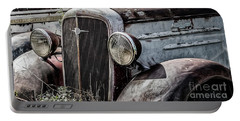 Portable Battery Charger featuring the photograph Chevy Grill IIi by Brad Allen Fine Art