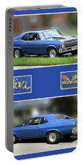 Chevy Nova Vertical  Portable Battery Charger