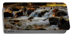 Portable Battery Charger featuring the photograph Cheyenne Canyon Autumn by Ellen Heaverlo