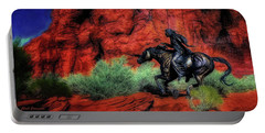Cheyenne War Pony And Warrior  ... Portable Battery Charger