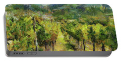Chianti Vineyards Portable Battery Charger by Dragica Micki Fortuna