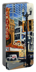 Chicago - The Chicago Theater Portable Battery Charger