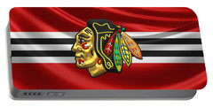 Chicago Blackhawks Portable Battery Charger