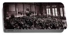 Chicago Board Of Trade 1900 Portable Battery Charger by Daniel Hagerman
