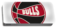 Chicago Bulls Retro Shirt Portable Battery Charger