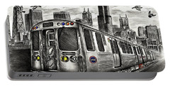Chicago Cta Train Portable Battery Charger