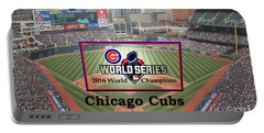 Chicago Cubs - 2016 World Series Champions Portable Battery Charger