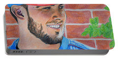 Chicago Cubs Kris Bryant Portrait Portable Battery Charger