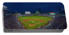 Chicago Cubs Wrigley Field 9 8357 Portable Battery Charger