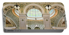 Chicago Cultural Center Architecture Portable Battery Charger