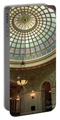 Chicago Cultural Center Dome Portable Battery Charger