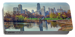 Chicago From Lincoln Park Portable Battery Charger