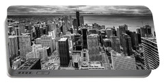 Chicago From The 70th Floor Portable Battery Charger
