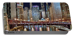 Chicago Full City View Portable Battery Charger