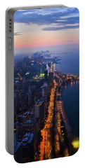 Chicago Gold Coast Night Portrait Portable Battery Charger