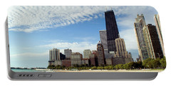 Chicago Lakefront Skyline Portable Battery Charger