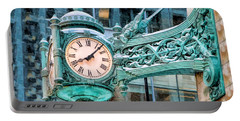 Chicago Marshall Field State Street Clock Portable Battery Charger