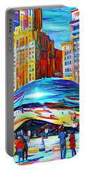 Chicago Millennium  Portable Battery Charger