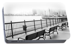 Portable Battery Charger featuring the photograph Chicago Navy Pier by Dawn Romine